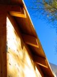 Rafters awaiting facia board
