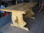 Beautiful comissioned table