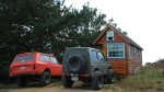 Nice lookin' trucks, right there. The orange monster is Zac's IH Scot ii. 1973 :)