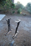 The table legs waiting
